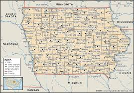 Map Of Wisconsin And Illinois by State And County Maps Of Iowa