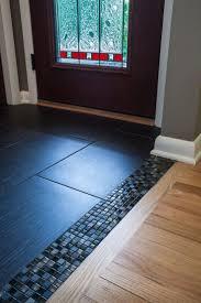 Hardwood In Kitchen by Best 25 Transition Flooring Ideas On Pinterest Dark Tile Floors