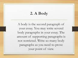 parts of an essay Non Plagiarized Term Papers