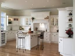 bright white pantry cabinets country kitchen decor grey ceramic