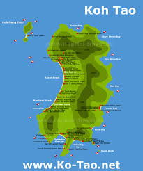 thailand s islands island and hotel maps
