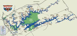Lake Powell Map Norris Lake Real Estate Knoxville Realtor Chuck Cavalaris