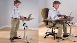 Affordable Sit Stand Desk by Sit To Stand Workstation Height Adjustable Sitting Standing Desk