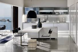 Stainless Steel Kitchen Pendant Light by Splendid Kitchen Island Dining Table With White Laminate