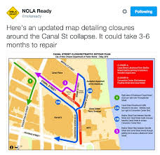 Ninth Ward New Orleans Map by City Provides Sinkhole Driving Map For Motorists Translation