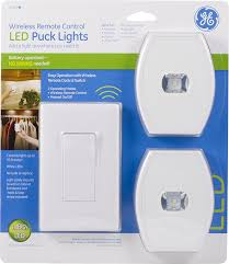 Lights Under Kitchen Cabinets Wireless by Amazon Com Ge Wireless Remote Control Led Puck Lights White 2