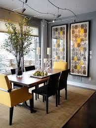 Best  Yellow Dining Room Ideas On Pinterest Yellow Dining - Decor for dining room table