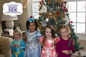 disney side holiday princess tea party live and learn