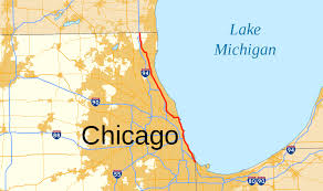 Chicago On The Map by U S Route 41 In Illinois Wikipedia