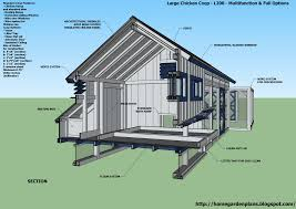 chicken house designs free with chicken coop build plans 6077