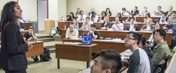 Delivering the keynote address at UCLA Careers Conference