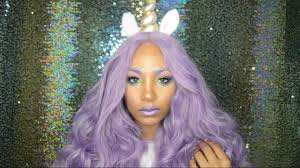black unicorn makeup halloween look flying unicorn youtube