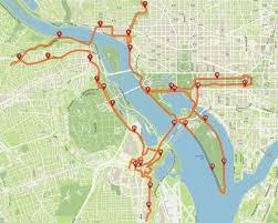 Washington Traffic Map by Marine Corps Marathon Brings Road Closures To Arlington Dc Wtop