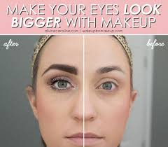 the makeup you choose for your eyes can have a huge effect on the overall brightness of your face check out these tips for making your eyes look bigger and