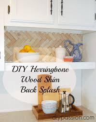 Diy Kitchen Backsplash Easy And Inexpensive Back Splash Ideas