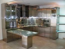 fantastic metal kitchen cabinets for contemporary kitchen design