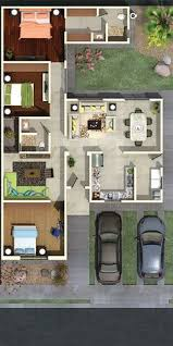 Three  Bedroom ApartmentHouse Plans Apartment Floor Plans - Apartment house plans designs