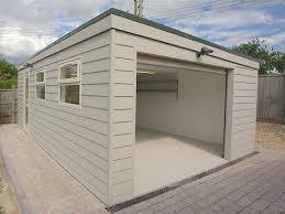 flat roof garage designs glorious garages custom flat roof garage designs prefab garden buildings sloped