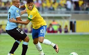 Pertandingan Semifinal Brasil vs Uruguay Piala Konfederasi 2013