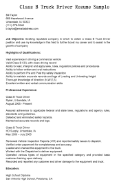 Driving Resume Samples  driver resume samples   template  cdl       driver