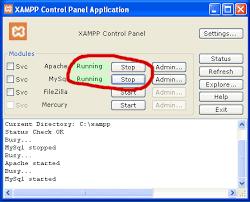xampp web server