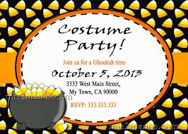 Halloween Free Printable Invitations Halloween Party Costume Contest Invitation Template Stock Vector