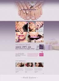website template 53159 nail salon nails custom website template