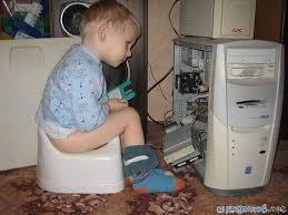 Компьютер в жизни ребёнка.
