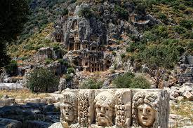Myra Kaya Mezarları