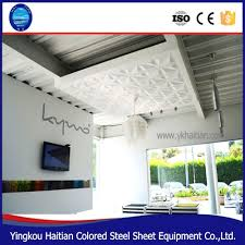 decor 3d pvc ceiling tiles embossed background home decoration