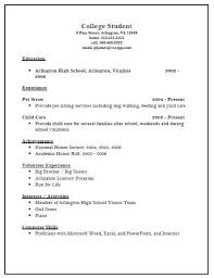 Example College Student Resume Template   resume objective for college student LATAmup