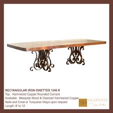 dining tables copper dining tables arhaus copper table care