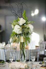 Table Flower Arrangements Desmond And Charlotte U0027s Winter Wonderland Wedding At Shangri La