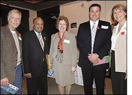 Jim Roebuck, chairman of the PA House Education Committee; Kathy Sykes, director of Philadelphia Mental Retardation Services; Nicholas Nastasi, president of ... - 3-17-2010-10-51-00-AM-5102593