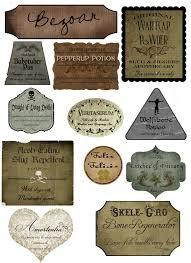 Vintage Halloween Printables by Harry Potter Lotions Halloween Potion Bottles Pinterest
