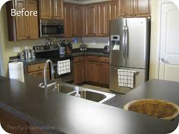 Professional Spray Painting Kitchen Cabinets Housetweaking Kitchen Cabinet Spraying Rigoro Us