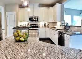 granite countertop kitchen cabinet style installing ceramic wall