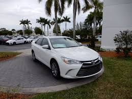 2017 used toyota camry xle v6 automatic at royal palm toyota