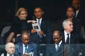Danish Prime Minister Helle Thorning-Schmidt mingled with the President,