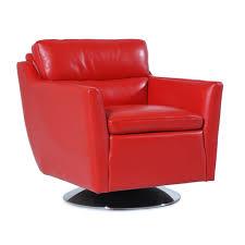Palliser Alula Clio Genuine Leather Swivel Chair Humble Abode