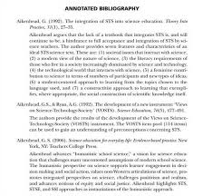 annotated bibliography apa cover page