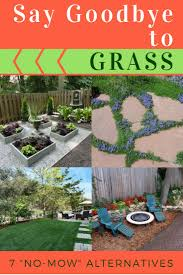 Landscaping Ideas For Backyards by Best 25 No Grass Backyard Ideas On Pinterest No Grass