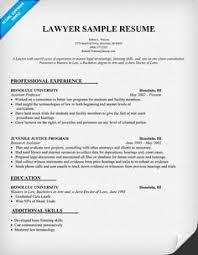 Sample Lawyer Resumes by Law Resume Uxhandy Com