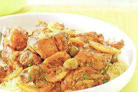 moroccan style lemon u0026 olive chicken