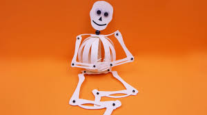halloween skeletons decorations how to make a paperball skeleton halloween decoration diy