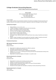 Professional Profile On Resume Accounting Skills To List On Resume Free Resume Example And
