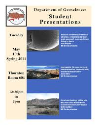 Department of Geosciences    San Francisco State University Department of Earth   Climate Sciences   San Francisco State