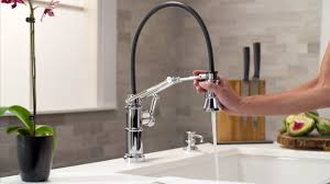 the articulating kitchen faucet by brizo youtube