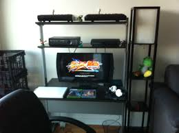 Xbox Gaming Desk by My Gaming Setup U2013 Early Days Of Condo Living Edition In Third Person