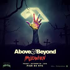 above u0026 beyond are taking over nyc this halloween your edm
